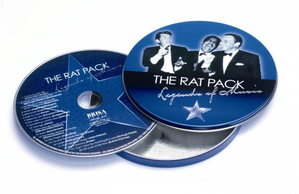 BRISA CD THE RAT PACK - LEGEND OF MUSIC