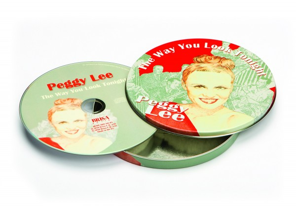 BRISA CD PEGGY LEE - THE WAY YOU LOOK TONIGHT