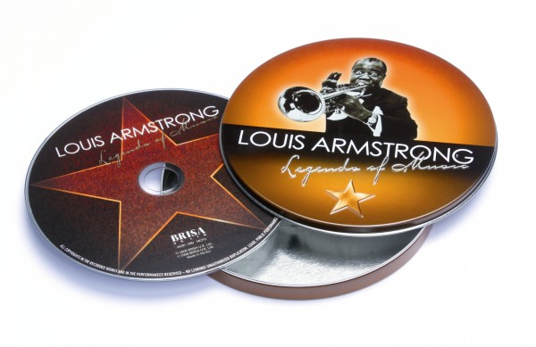 BRISA CD LOUIS ARMSTRONG - LEGEND OF MUSIC