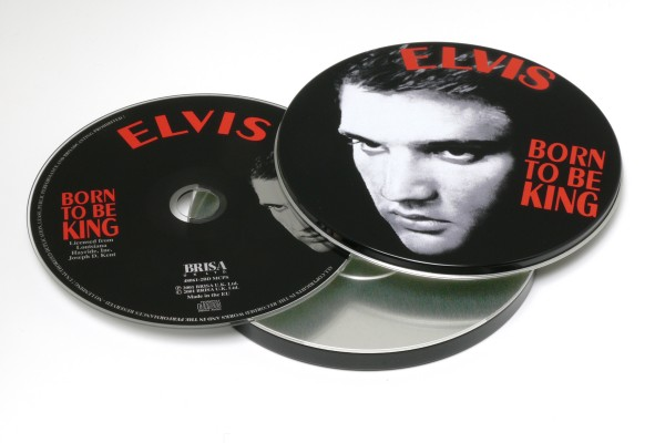 BRISA CD PRESLEY ELVIS - BORN TO BE KING