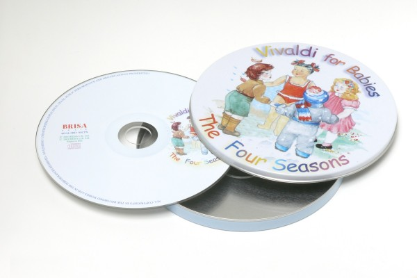 BRISA CD VIVALDI FOR BABIES - THE 4 SEASONS