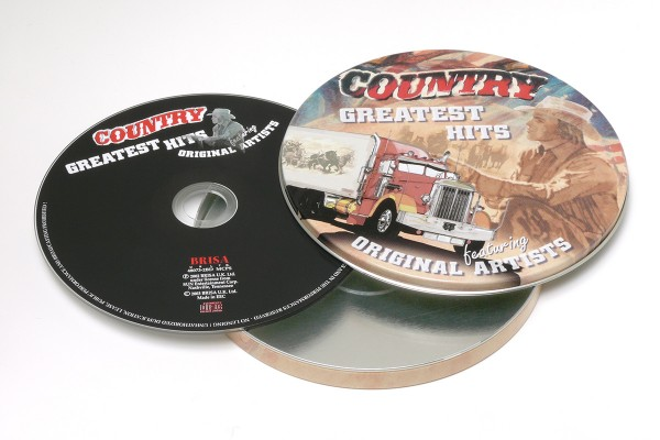 BRISA CD COUNTRY GREATEST HITS